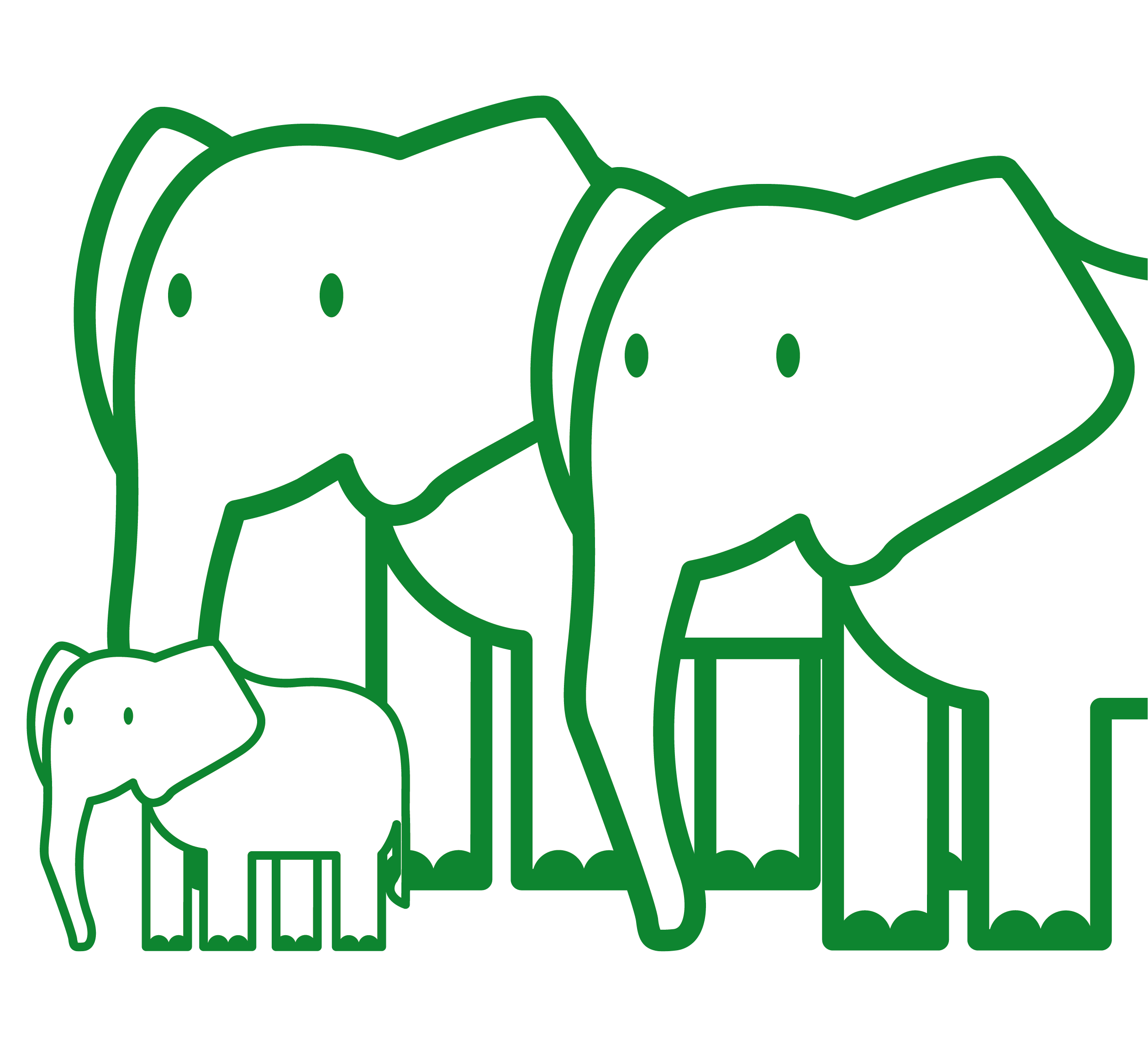 BAN481_CSR Environment icons_elephant