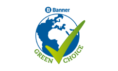 Green choice logo for blog and social
